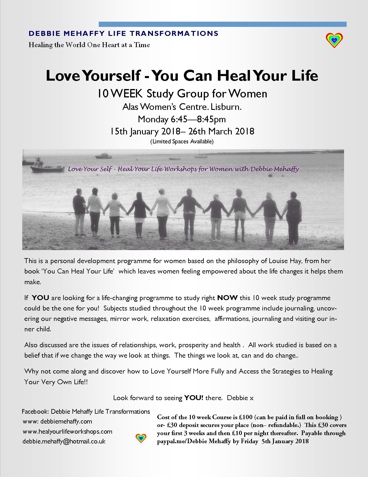 Love yourself you can heal your life 10 week study group jan love yourself you can heal your life 10 week study group jan 2018 solutioingenieria Image collections